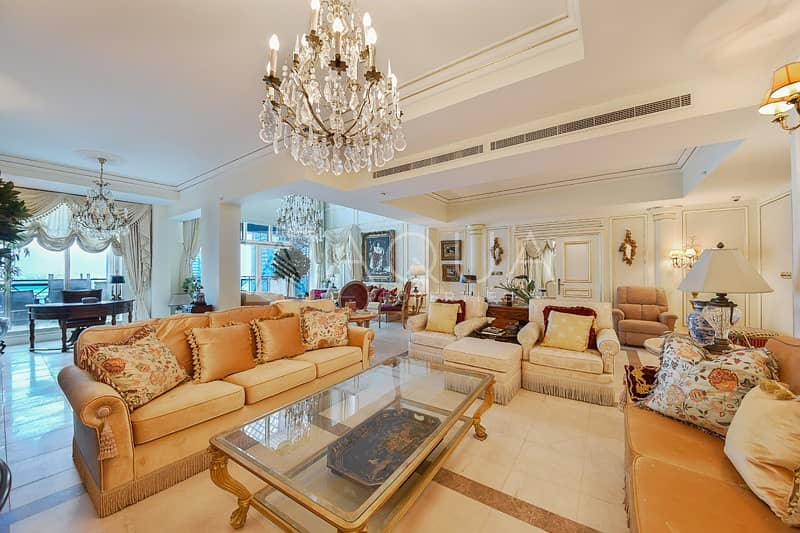 2 Very Rare 4-Bed Penthouse | Marina and Sea Views