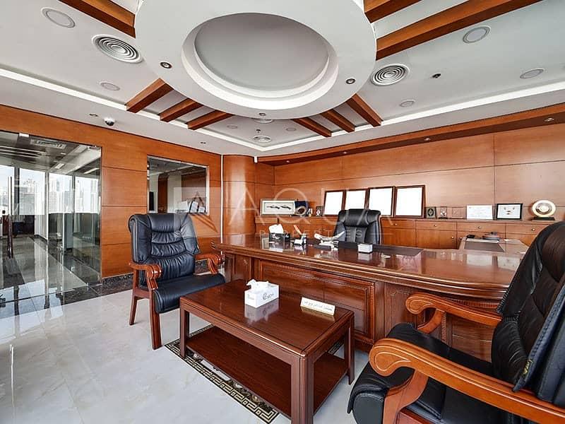 Furnished Office | Canal and Burj Khalifa