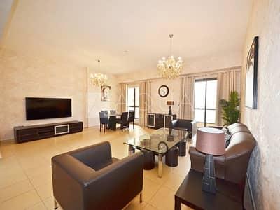 شقة 2 غرفة نوم للايجار في جميرا بيتش ريزيدنس، دبي - Sea View | Fully Furnished | Equipped Kitchen
