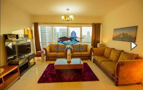 2 Bedroom Flat for Rent in Jumeirah Lake Towers (JLT), Dubai - Fully Furnished 2 BHK Near Metro