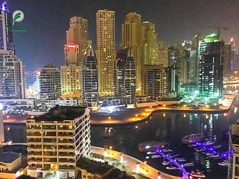 Full Marina View | 2 Bedroom | High Floor