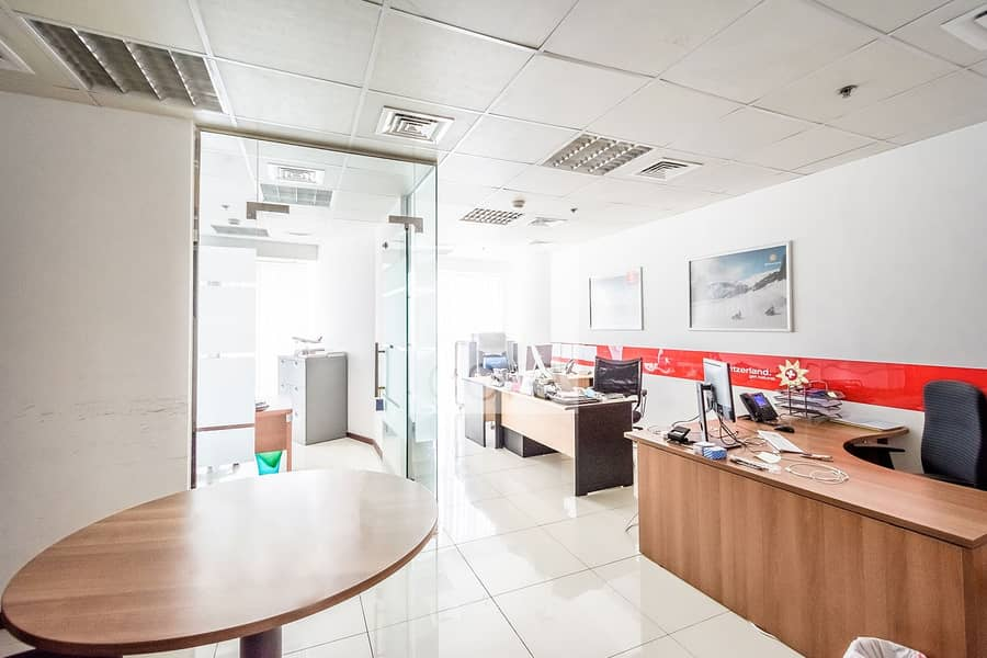 Fitted Office with Partition | Prime Location