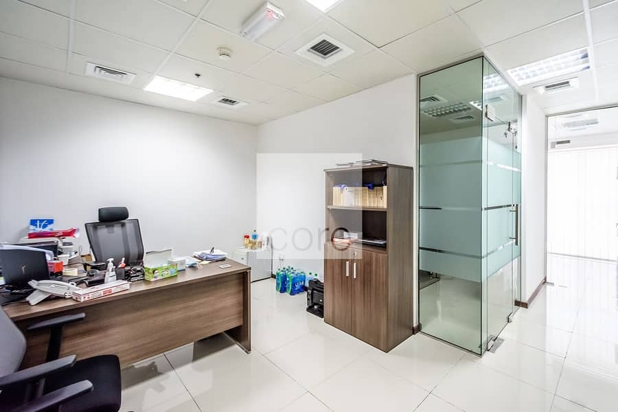 Fitted Office | High Floor | Close to Metro