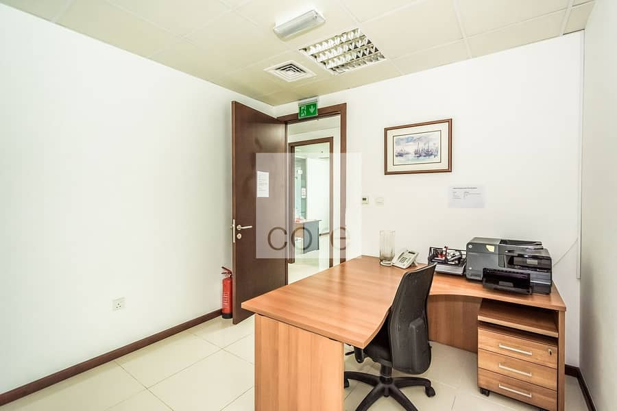 2 Fitted Office | High Floor | Close to Metro