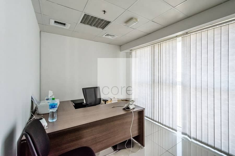 10 Fitted Office | High Floor | Close to Metro