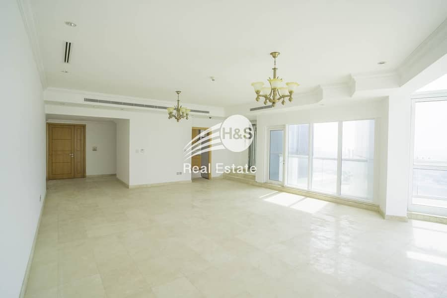 Vacant 3 Beds + Maid's Room I Sea & Marina View
