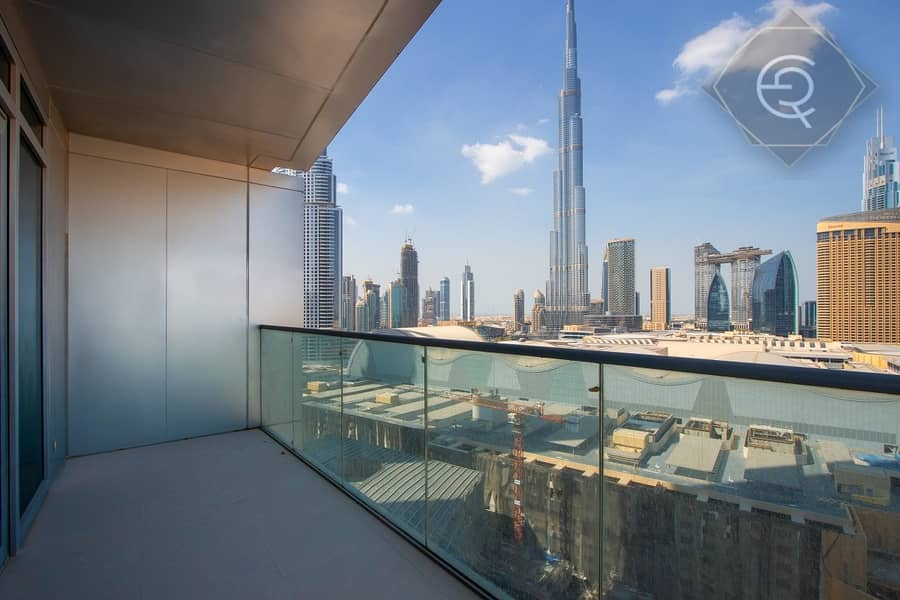 Burj Khalifa view  2 bed room