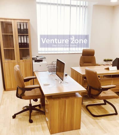 Office for Rent in Bur Dubai, Dubai - AED 15000 - 25000 | Furnished and Serviced Offices| Musalla Towers & Mall | Al Fahidi Metro|No Commission