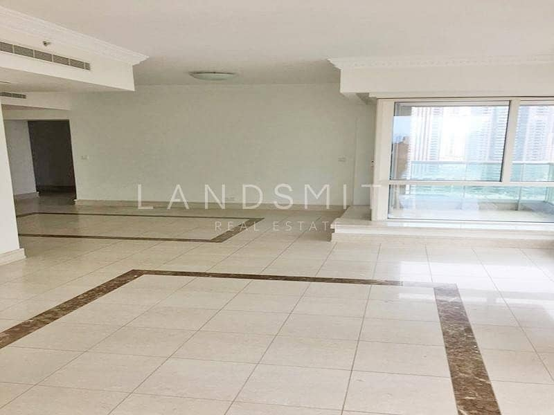 Spacious 3BR+Maid's Apt in Al Murjan Tower