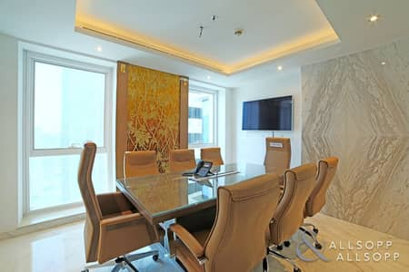 Office for Rent in Sheikh Zayed Road, Dubai - Fitted | 3 Parking Spaces | Electric Doors