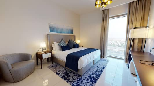 1 Bedroom Flat for Rent in Business Bay, Dubai - Fitted kitchen | Free maintenance | Kid's play area