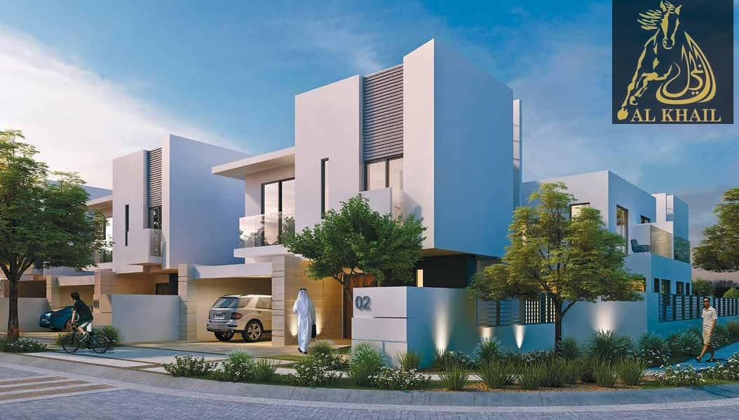 NO COMMISSION LUXURIOUS 3 BED VILLA PAYMENT PLAN