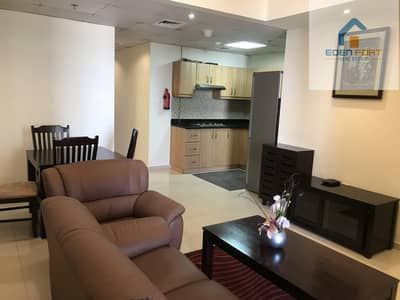 1 Bedroom Flat for Rent in Dubai Sports City, Dubai - Spacious Fully Furnished One Bedroom  Apartment..