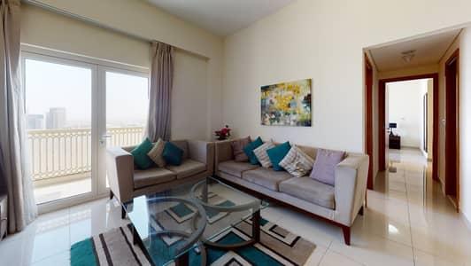 فلیٹ 2 غرفة نوم للايجار في داون تاون جبل علي، دبي - Flexible contract | Furnished | Open kitchen
