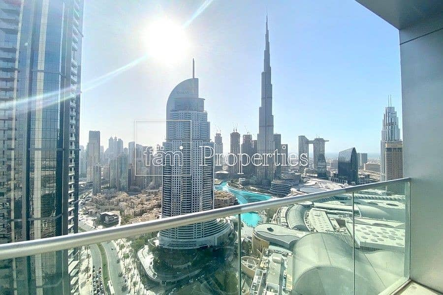 02 series Full Burj and Fountain view
