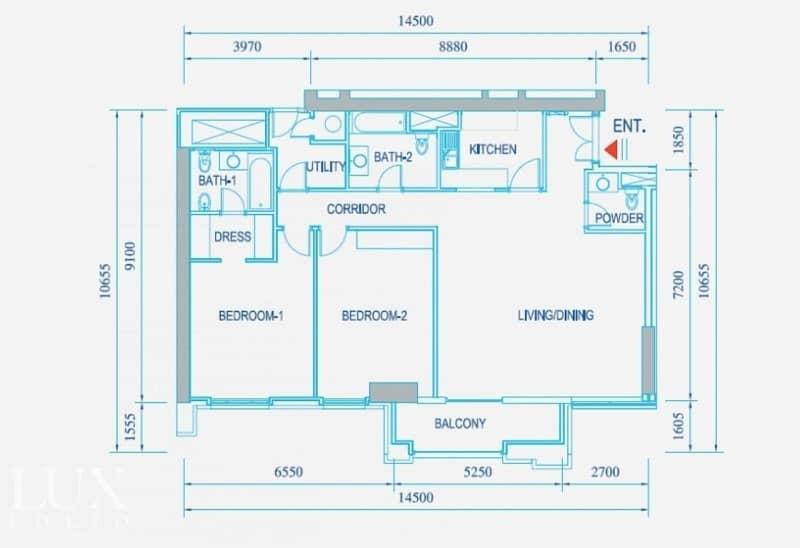 20 Storage Room | High Floor | Sea View | Rented
