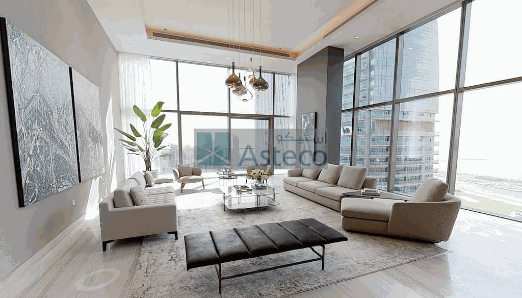 Stunning Penthouse|4 BR|Marina View|Pay in 3 Years