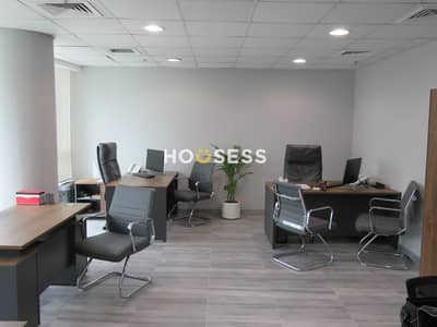 مکتب  للبيع في الخليج التجاري، دبي - High Floor | Fully Fitted |  Ready to Move in