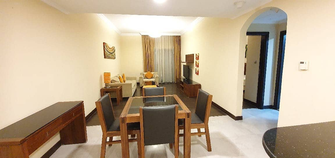 No Commission ! Luxury Furnished 2 bedroom with All Facilities Free Rent 52k 6chqs Near rta Bus Stop