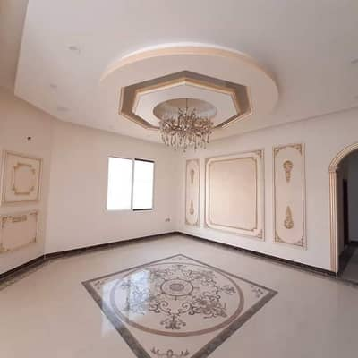 5 Bedroom Villa for Sale in Al Rawda, Ajman - Villa for sale freehold luxury luxury villa in the designs and finest decoration very high finishing