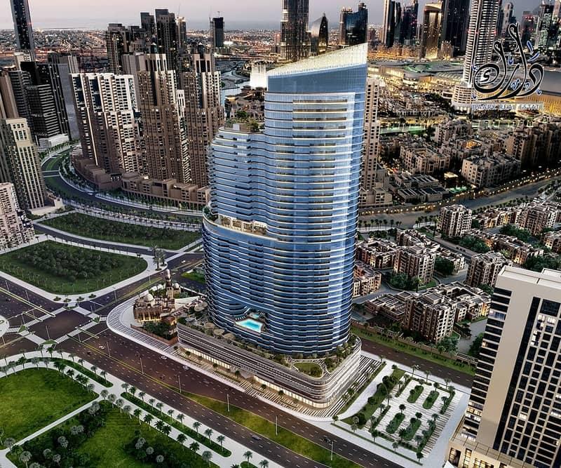 enjoy burj khalifa view - 3 years post handover - located in downtown