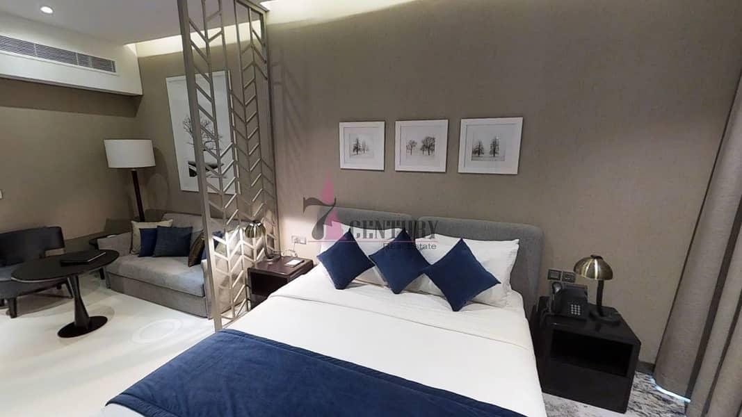 2 Luxury Studio | High Floor | Furnished | Without Balcony