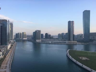 1 Bedroom Apartment for Rent in Business Bay, Dubai - FULLY FURNISHED| HIGH FLOOR| CANAL VIEW FOR 72000