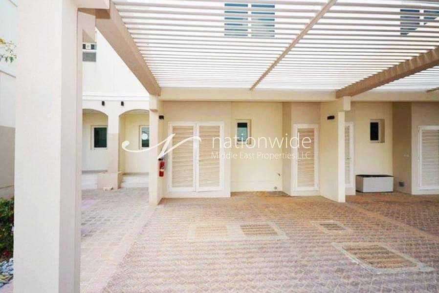 15 Vacant! Terraced 2 BR Townhouse In Al Ghadeel