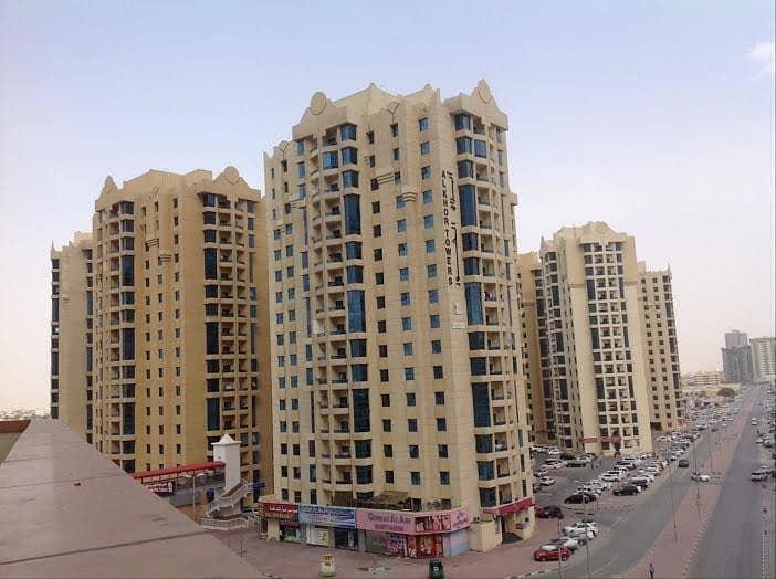شقة في أبراج الخور عجمان وسط المدينة 1 غرف 190000 درهم - 4763106