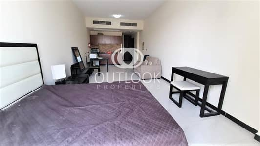 استوديو  للايجار في قرية جميرا الدائرية، دبي - Urgent Rent| Chiller free| Pool view|Big Size