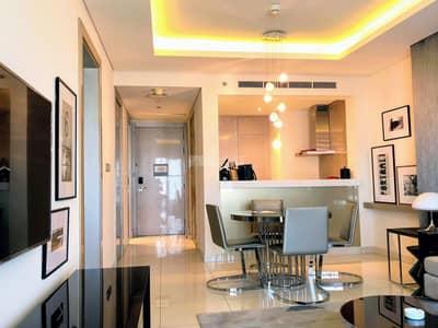 فلیٹ 1 غرفة نوم للايجار في الخليج التجاري، دبي - High Floor Luxury 1BR Fully furnished Apartment