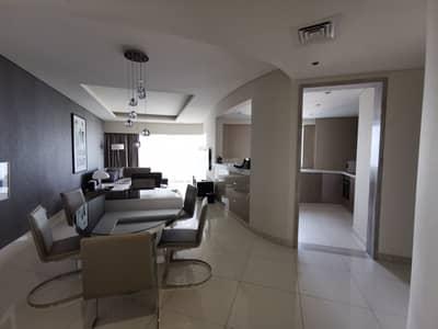 شقة 3 غرف نوم للايجار في الخليج التجاري، دبي - High Floor || Stunning View || Furnished 3BR ||
