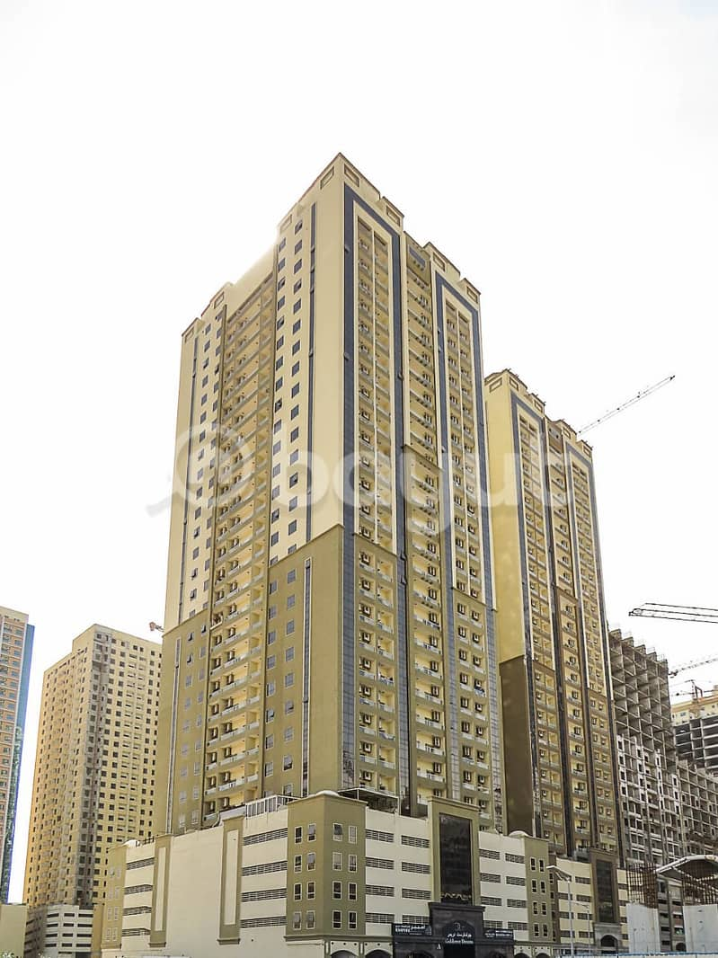 HOT DEAL. . . ! One Bedroom For Sale in Goldcrest Dreams Tower A. . . ! Only on AED 140,000/-
