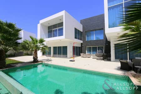 4 Bedroom Villa for Sale in Al Barari, Dubai - 4 Bedrooms | Open Layout | Corner Unit