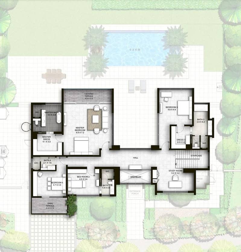 10 4 Bedrooms | Open Layout | Corner Unit