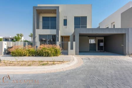 4 Bedroom Villa for Sale in Dubai Hills Estate, Dubai - Vacant | 4 BR Corner with huge plot | Single row
