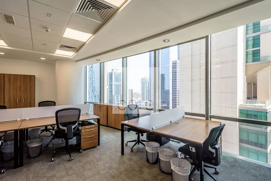2 Fully Furnished Office | Utility inclusive