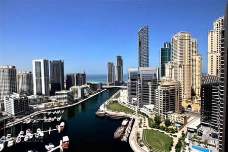 2 Bedroom Flat for Rent in Dubai Marina, Dubai - Marina View | Big Layout | Vacant Now