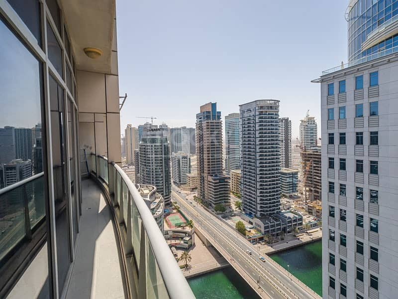 Chiller Free | Fully Furnished | 3 Bed plus Maids  | Dubai Marina