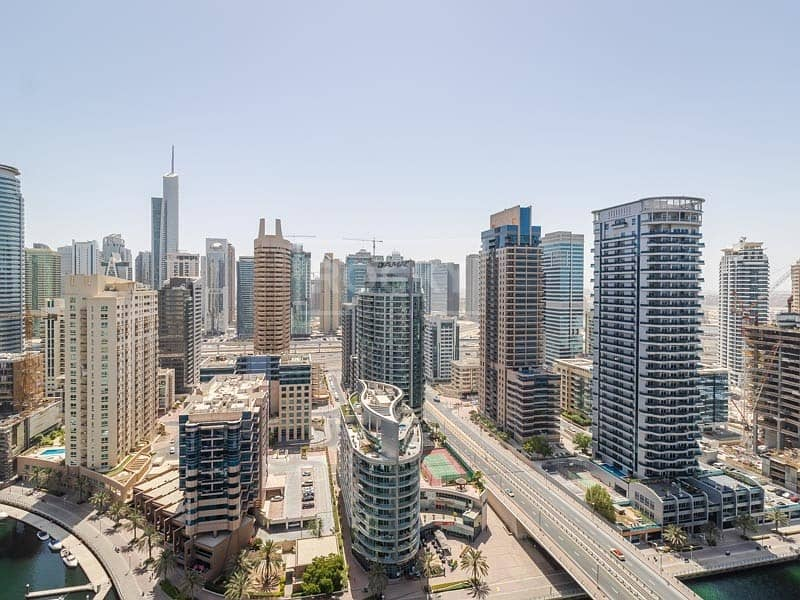 49 Chiller Free | Fully Furnished | 3 Bed plus Maids  | Dubai Marina
