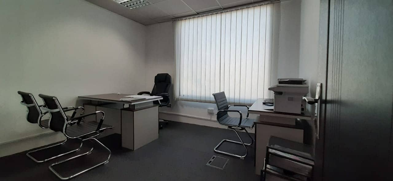 Hot Offer | INDEPENDENT FURNISHED OFFICE | 4 AND 6 CHEQUES PAYMENT | NO COMMISSION