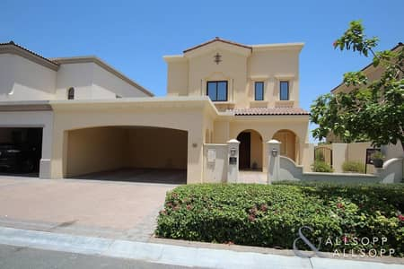 3 Bedroom Villa for Rent in Arabian Ranches 2, Dubai - Opposite Pool | Type 1 | Available October