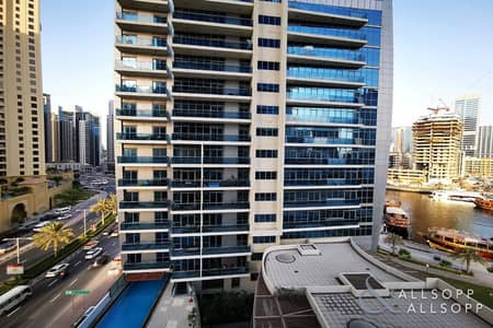 فلیٹ 1 غرفة نوم للايجار في دبي مارينا، دبي - Modern 1 Bed   Spacious   JBR/Marina Views