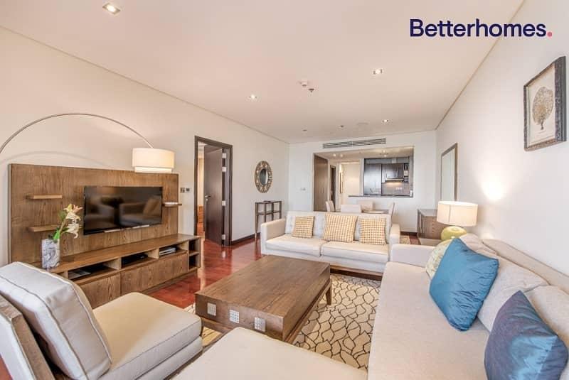 2 Fully Furnished | 1 BR | Burj Al Arab and Sea View
