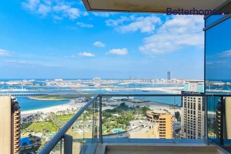 3 Bedroom Apartment for Rent in Dubai Marina, Dubai - Panoramic Sea View| 3 Bedrooms + Storage | Vacant