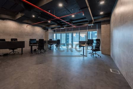 Office for Sale in Business Bay, Dubai - 2 VIP Parking | Semi Fitted | Canal View