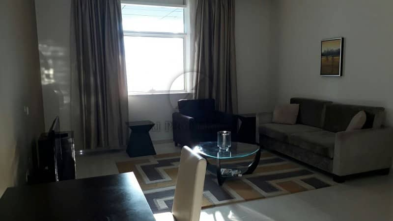 Fully Furnished 1BR in Damac Cour Jardin