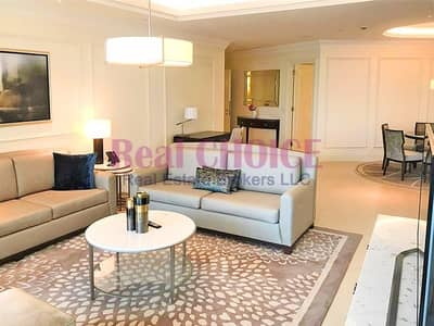 2 Bedroom Apartment for Rent in Downtown Dubai, Dubai - High Floor | 2 Bed | Large Layout | Bills Included