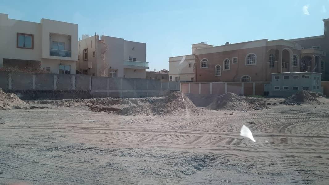 Private residential plot