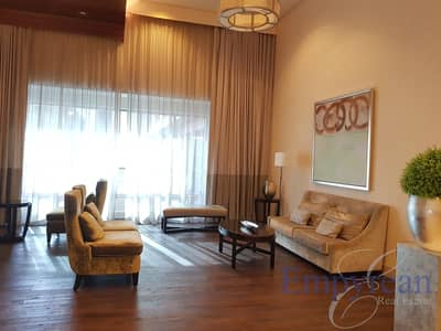 استوديو  للايجار في وسط مدينة دبي، دبي - Fully Furnished Downtown Studio with The Address View
